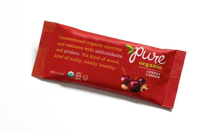 Pure, Organic Bars — The Dieline - Branding & Packaging Design