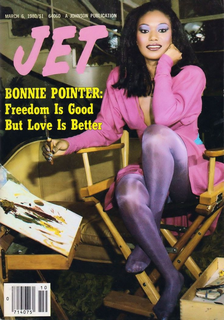 Jet magazine (March 6, 1980) — Bonnie Pointer   Soul, Baby ...
