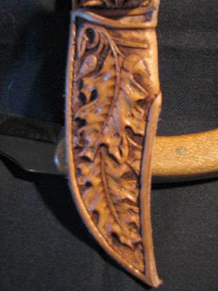Custom Leather Knife Sheaths | Ellen Marie's Leather ~ Knife Sheaths & Holsters ~