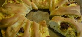 Pizzakranz Gyros aus dem Thermomix