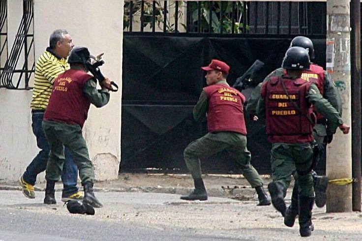GNB ataca a un ciudadano