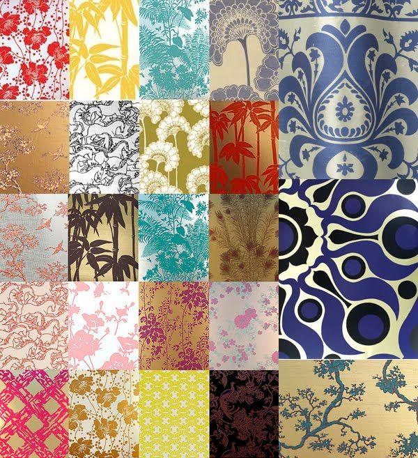 1960 wallpaper patterns florence broadhurst original - Google Search