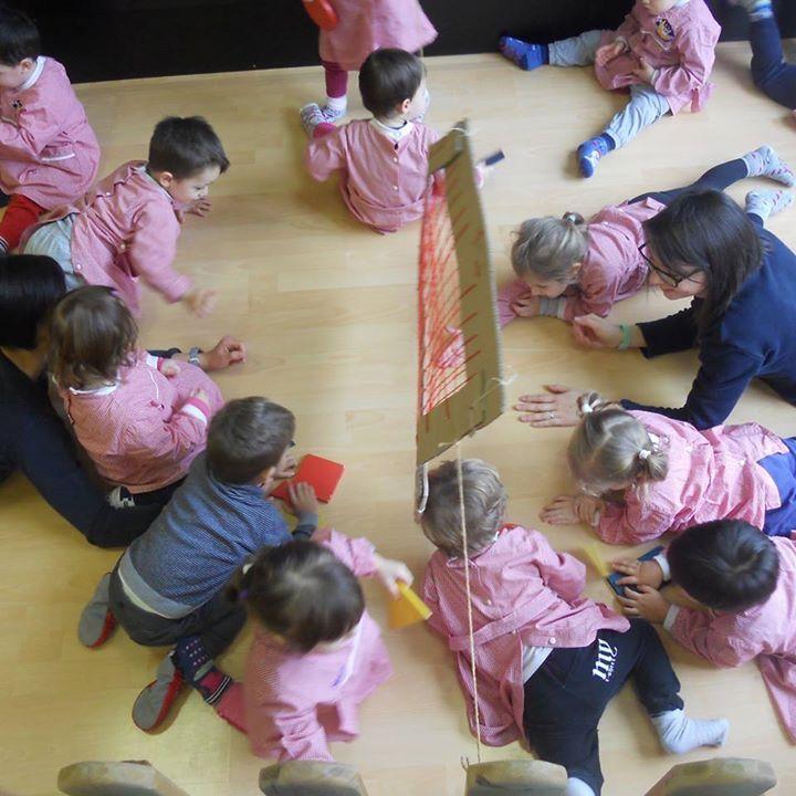 Il gioco del Brancighello  consiste nel lanciare delle forme geometriche da una parte all'altra di una rete #IlFuturoIniziaDaQui