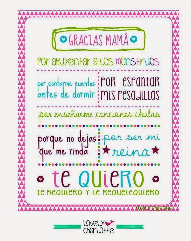 Imprimolandia: Día de la madre