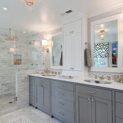 traditional bathroom by Tamara Mack Design