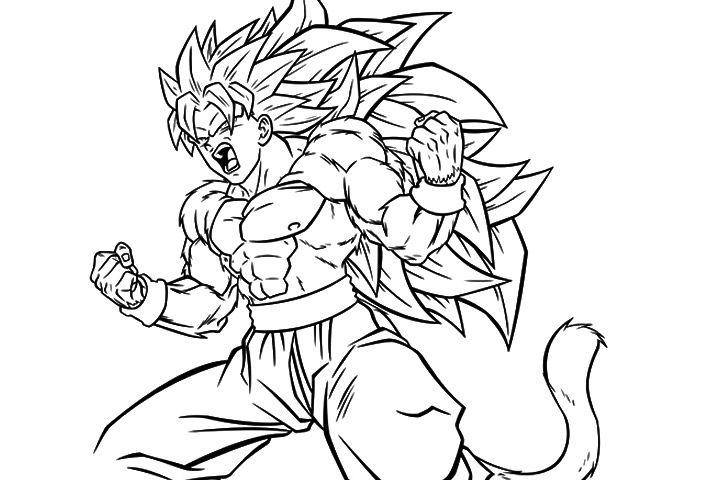 50 Dragon Ball Z Coloring Pages Dragon Ball Goku Super Goku Super Saiyan