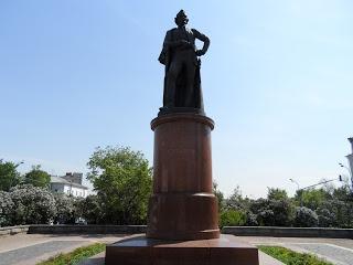 The Monument to Alexander Suvorov