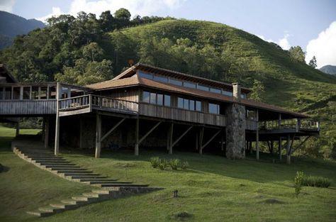 Casa de Carlos Motta na Serra da Mantiqueira