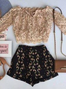 Compre Shorts - Moda Feminina na loja Estação Store com o menor preço e ande sempre na moda.
