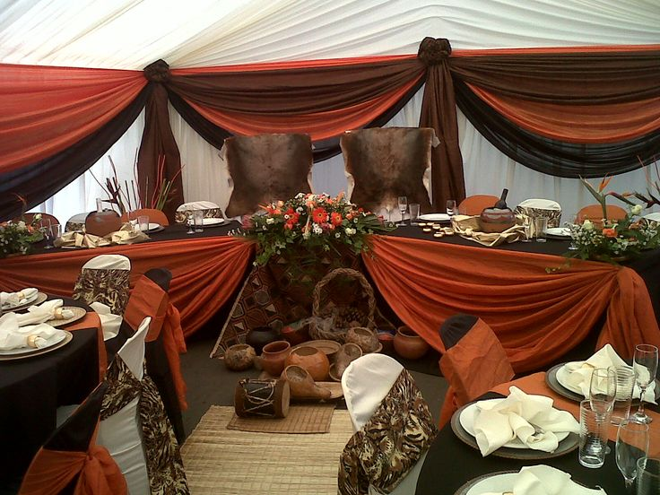 zulu wedding decor pictures - Google Search