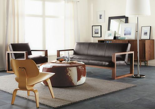 Lind Cowhide Round Ottomans | Fusion Motion | Pinterest | Room, Living Room  And Sofa