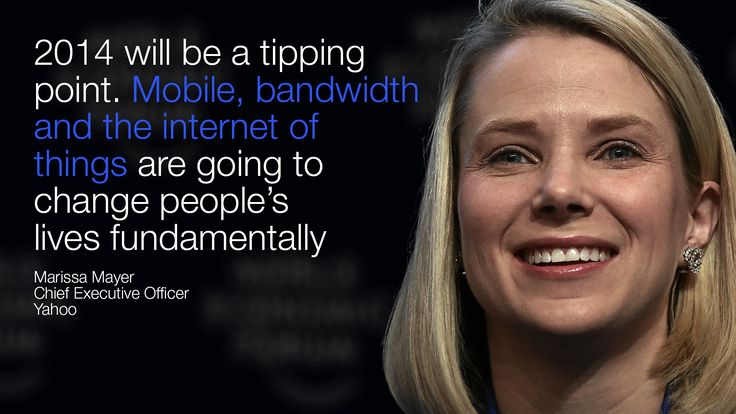 Marissa Mayer on the New Digital Context - view the full session at http://wef.ch/s1KQX