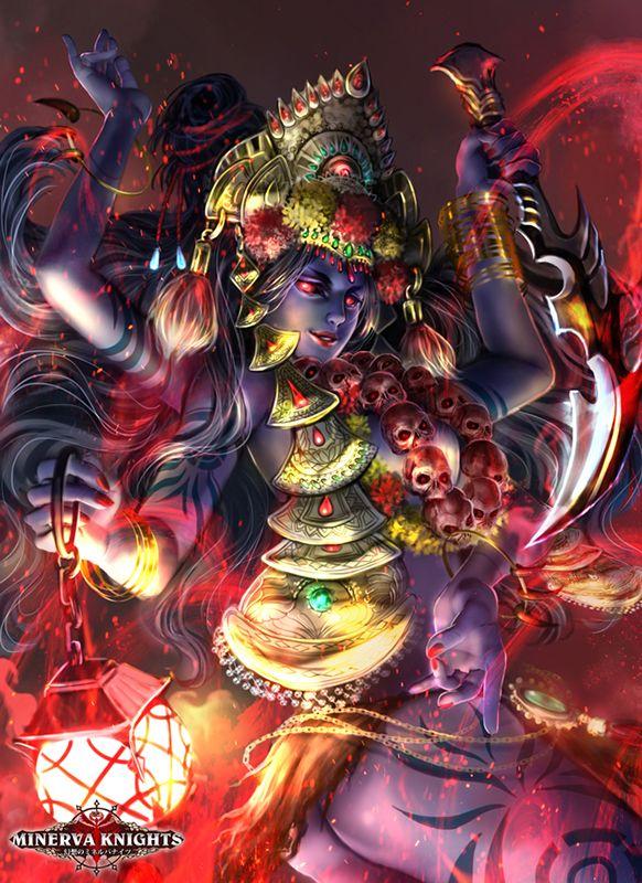 Kali Goddess Ultimate by lunarlunatic.deviantart.com on @DeviantArt