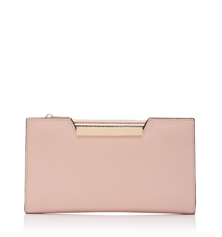 Rihana Wallet On A Strap Sepia Rose - Womens Fashion | Forever New