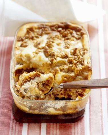 Recept voor honingkoek schotel met appelen en noten | njam!