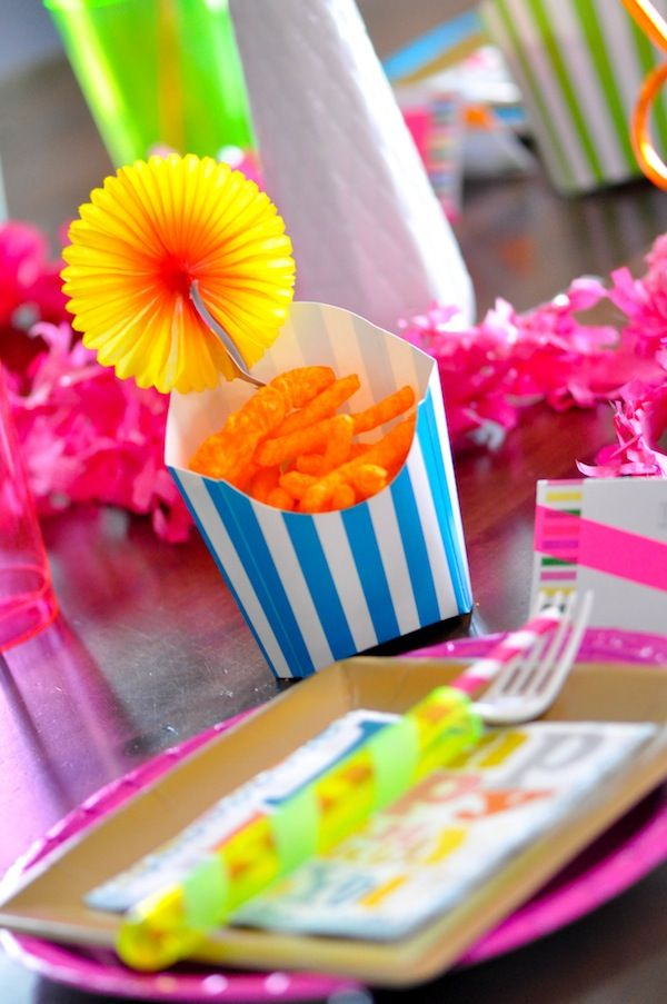 Creative Party Ideas By Cheryl Neon
