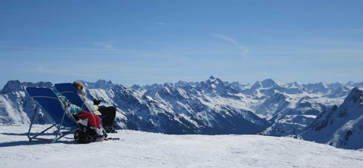 wonderfull #panorama at the #Montafon