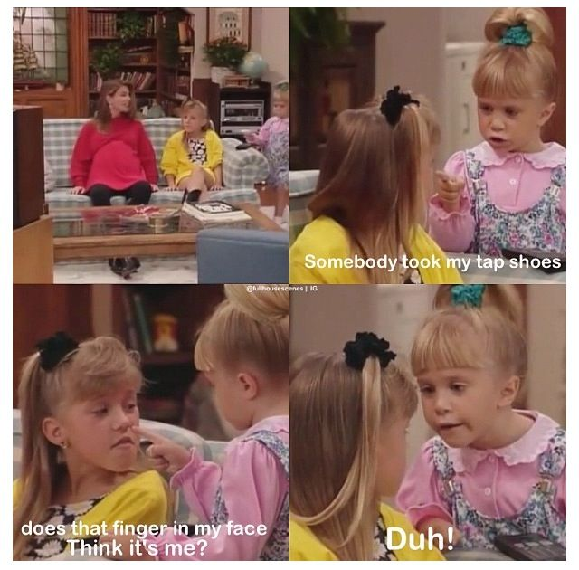 I ABSOULUTELY POSITIVELY LOVE FULL HOUSE!