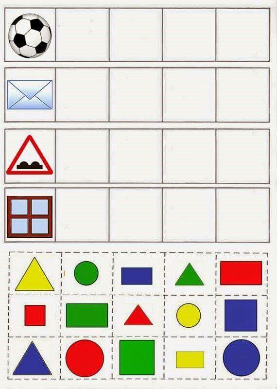 Mehrere AB Formen/ Farben zuordnen