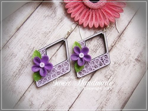 • Sweet Handmade •: Summer Earrings