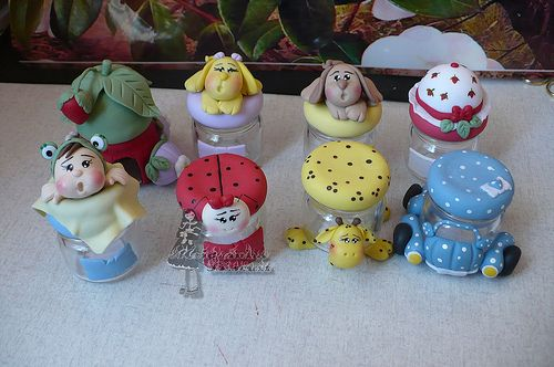 modelos lembracinhas: Photos, Photo Sharing, Biscuit Clay Porcelana Fria, Polymer Clay