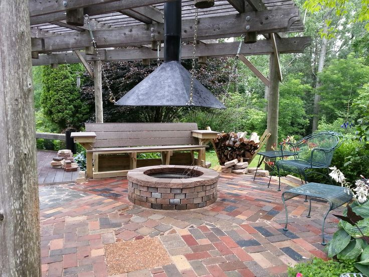Fire Pit Hood Chimney ~ Best fire pit with metal hood images on pinterest