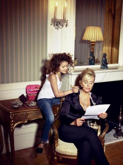 Joanna Kurowska z córką