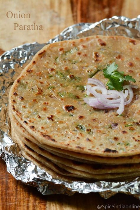 onion paratha recipe, pyaaz ka paratha, raw onion paratha recipe, northindian recipes, northindian flat bread, stuffed parathas, stuffed parantha recipe, onion stuffed paratha, wheat flour paratha, how to make onion paratha, how to make raw onion paratha, indian flat breads, whole wheat paratha, paratha recipes, vegetarian paratha, vengayam