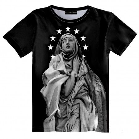 St. Cathrin T-shirt #tshirt #streetwear #streetfashion #streetstyle #brzozowskafashion #brzozowska #fashion #print #3d #3dprint #fullprint #blvck #allblackeverything #blvckfashion #antique #motyw #antyczny #modauliczna #polskistreetwear #koszulka #nadruki #nadruk #autorski #projekt