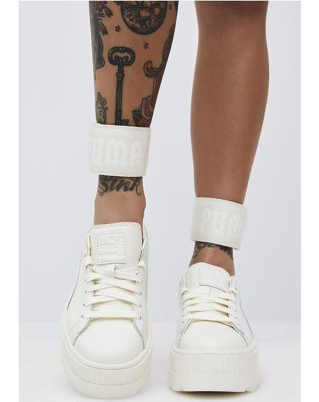 Vanilla FENTY PUMA by Rihanna Ankle Strap Sneaker  5f74cee743