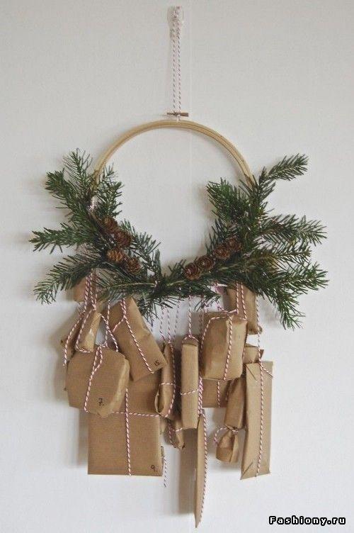 Новогодние идеи для украшения дома