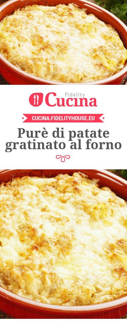 Purè di #patate gratinato al forno