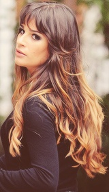 Lea Michele, great hair!!!!