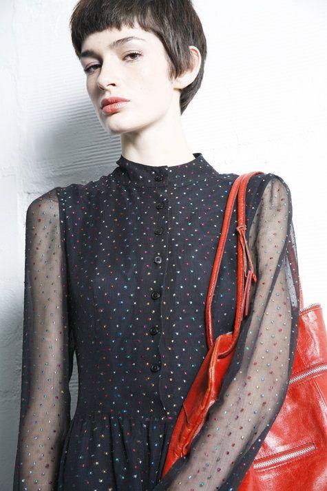 Jonny dress - Burda Style- super cool chiffon dress