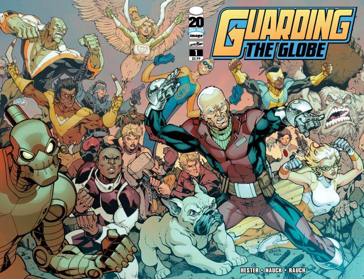 Recensione: Guarding The Globe #1 – Sotto Assedio http://c4comic.it/recensioni/guarding-the-globe-1-sotto-assedio/