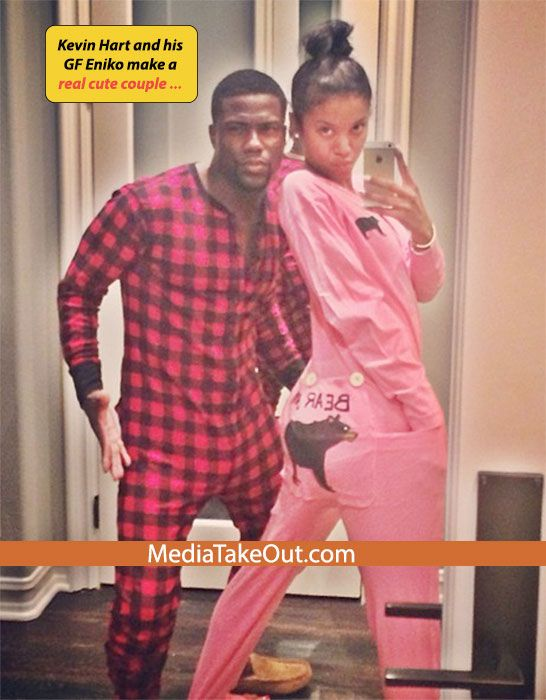Comedian Kevin Hart and his Girlfriend Sent Out a pic For Everyone Too See!!! - MediaTakeOut.com™ 2013 Isn't that so cute