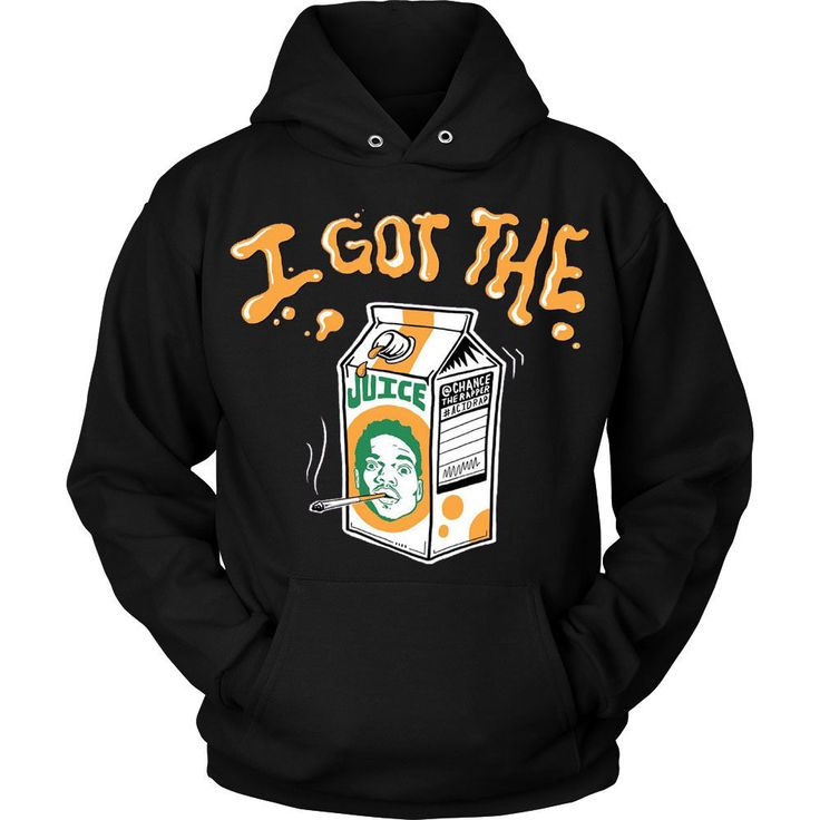 I Got The Juice Chance The Rapper Unisex Hoodie  #Unbranded #Hoodie