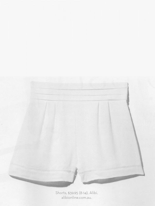Lana Shorts by Alibi at AlibiOnline. As seen in Oct issue.