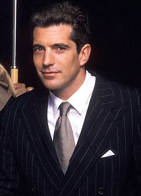 John F. Kennedy, jr.  Would've loved to have met him - for many reasons, (some more obvious than others). Died way too young - was hoping he would've been president one day.