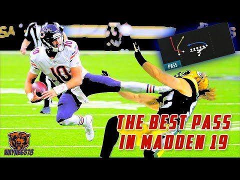 MADDEN 19 ONE PLAY TD | BEST EASY OFFENSIVE SCHEME | 2 BEST