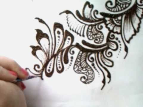 Mehndi Patterns Easy On Paper : Best zentangle youtube videos images doodles