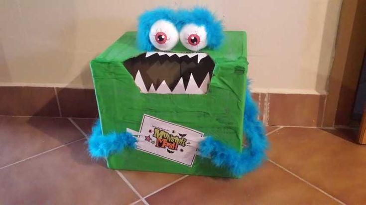 Mit evett a szörny játék kartondobozokból - Lurkovarázs.hu - Kreatív feladatok gyerekeknek
