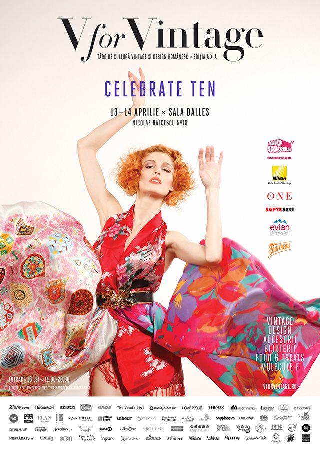 V for Vintage Fair - Celebrate Ten 2013 Edition