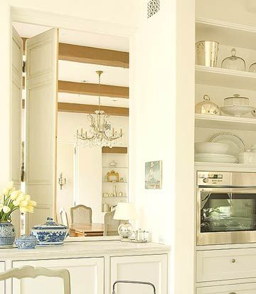 Kitchen Transitional Elements And Room Dividers Antiques Dining Rooms And The Floor