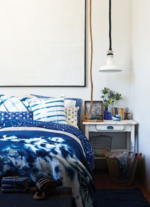 How to decorate with indigo (and dip-dye tutorials) - Chatelaine
