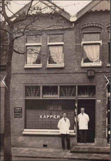 Kapper Croese Hilvertsweg, Hilversum 1927