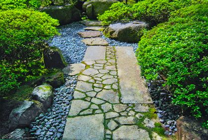 138 best outdoor stone landscaping ideas images on for Free rock garden designs