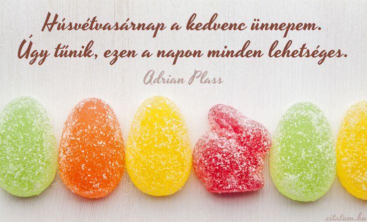Adrian Plass idézet húsvét vasárnapjáról.