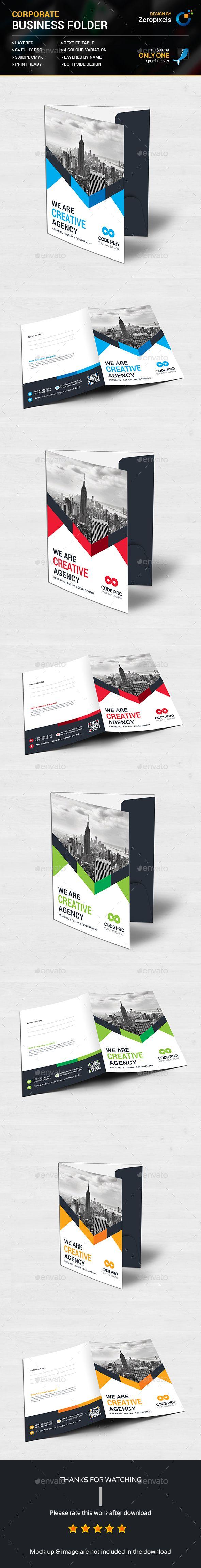 Corporate Business Folder
