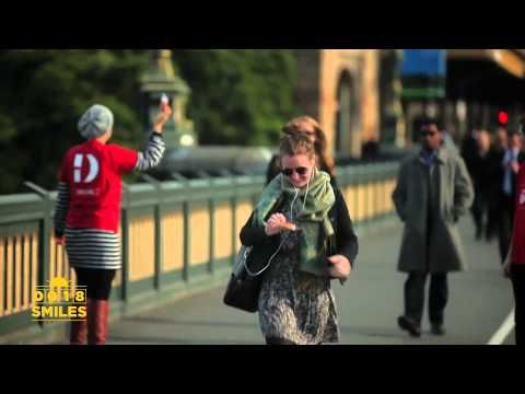 Guerrilla Marketing - Pay with a smile   Project Change - YouTube
